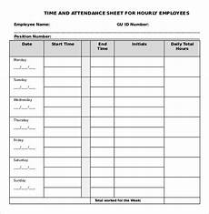 Time Card Sheet 22 Daily Timesheet Templates Free Sample Example