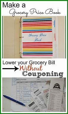 Grocery List Book Lower Your Grocery Bill Without Couponing