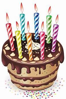 riti con le candele torta di cioccolato con le candele illustrazione