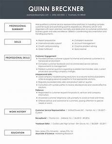 Resumes For Customer Service See Our Top Customer Service Resume Example