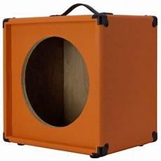 1x12 guitar speaker empty extension cabinet orange tolex