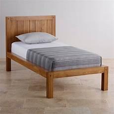 quercus single bed rustic solid oak oak furniture land