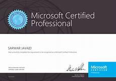Microsoft Cerificate Microsoft Certification Microtree