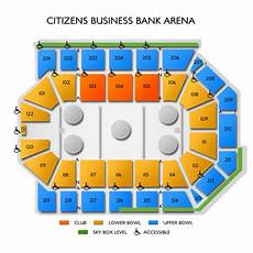 Citizens Bank Seating Chart Citizens Business Bank Arena Seating Chart Vivid Seats