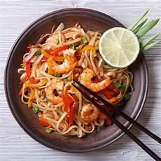 receta plat receta de tallarines orientales con camarones