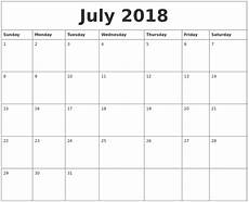 typable calendar 2015 july 2018 editable calendar template