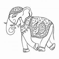 malvorlagen elefanten mandala coloring and malvorlagan