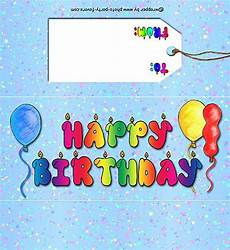 Free Birthday Candy Wrapper Template Free Printable Happy Birthday Candy Bar Wrapper Ready To