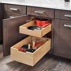 rev a shelf pilaster two drawer kit for 24 quot door drawer
