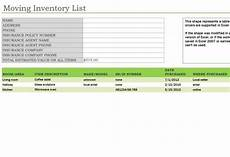 Moving Box Inventory List Template 23 Images Of Moving Box Inventory Template Leseriail Com