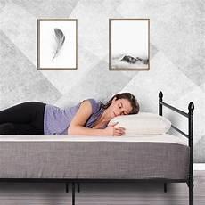 reinforced metal bed frame size vecelo platform