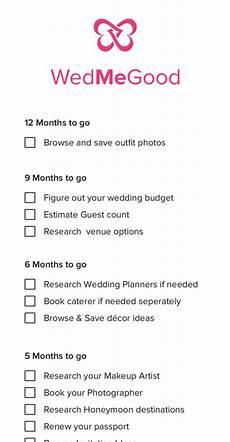 Wedding Checklist For Bride The 12 Month Wedding Checklist Every Indian Bride Needs