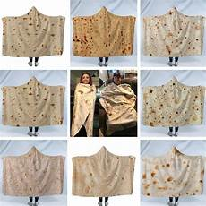 new mexican hooded blanket tortilla towel air
