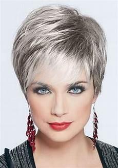 kurzhaarfrisuren graue haare hair styles for gray hair
