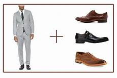 Best Shoes For Light Grey Suit How To Coordinate Your Suits And Shoes Like A Pro