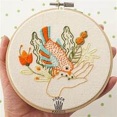 20 embroidery patterns and kits to gift for the 2017