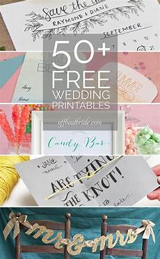 Download And Print Wedding Invitations Free 50 More Free Wedding Printables And Diy Wedding Downloads