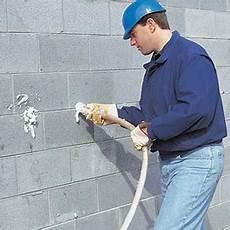 Insulating Concrete Block Walls Exterior Wall Insulation For New And Existing Concrete Block