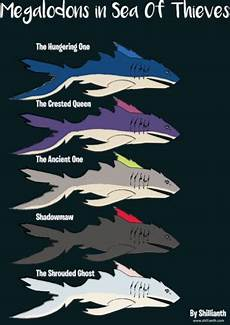sea of thieves rarity chart megalodon sea of thieves wiki