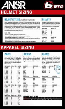Answer Helmet Size Chart Answer Gaerne Sg 12 Boots Bto Sports