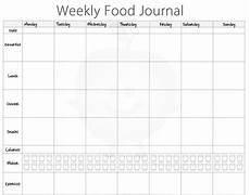 Free Food Log Template 5 Free Food Journal Templates Excel Pdf Formats