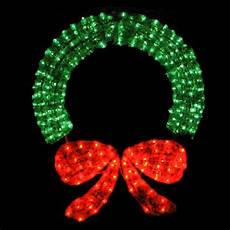 Outdoor Christmas Wreaths With Led Lights 48 Quot Commercial Sized Lighted Crystal 3 D Outdoor Christmas