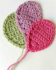crochet applique crochet balloons applique pattern petals to picots