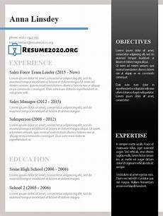 How A Resume Looks Like Best Resume Templates 2020 Free 30 Examples In Docx