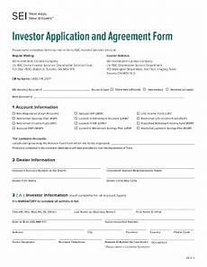 Sample Investor Agreement Agreement Form Fill Online Printable Fillable Blank