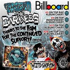 Darkness Chart Twiztid S The Darkness Chart Numbers Announced Faygoluvers