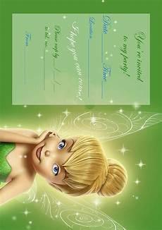 Tinkerbell Invitation Tinkerbell Birthday Party Invitation Printable Best Gift