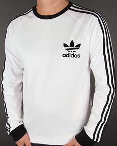 adidas sleeve shirts for adidas originals clfn sleeve t shirt white trefoil