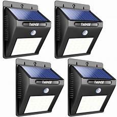Brightest Solar Motion Security Light 25 Led Solar Outdoor Patio Deck Lights Super Bright