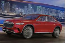 mercedes maybach concept suv images leak ahead of beijing