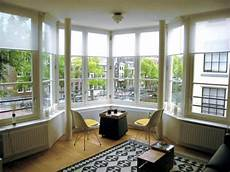 Decorating A Bay Window How To Decorate Your Large Bay Window With Low Budget
