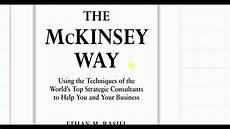 Lighting The Way Mckinsey The Mckinsey Way Chapter 1 Youtube