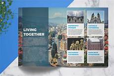 Travel Guide Brochure Template Travel Guide Template 4 Print