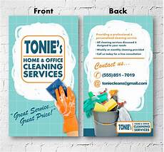 Examples Of Cleaning Business Flyers Cleaning Business Advertisement Business Card 2x3 Flyer Etsy