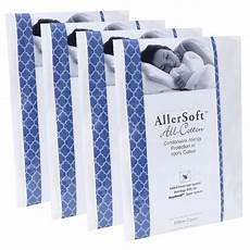 4 pack allersoft 100 cotton bed bug dust mite allergy