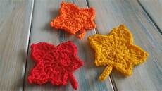 crochet how to crochet a maple leaf