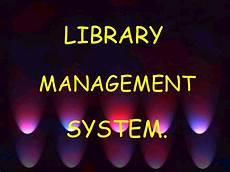 Library Management System Library Management System