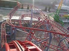 Rock N Roll Roller Coaster Lights On Roller Coaster Rock N Roll Technical Park Amusement