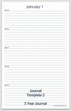 Journal Template For Word Journal Templates Printable Pdfs Legacy Templates