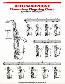 Elementary Chart Alto Sax
