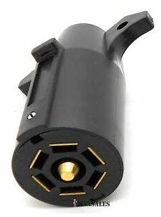 Trailer Light Plug Replacement New Trailer End 7 Way Round Rv Style Light Plug