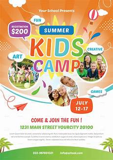 Kids Flyers Kids Summer Camp Flyer By Infinite78910 Graphicriver