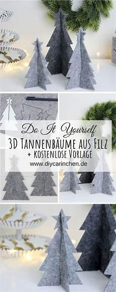 Malvorlagen Tannenbaum Selber Machen by Diy 3d Tannenbaum Aus Filz Einfach Selber Machen