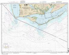 Tide Chart Apalachicola Bay Themapstore Noaa Charts Florida Gulf Of Mexico 11401