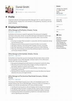 Example Management Resume Guide Office Manager Resume 12 Samples Pdf 2019