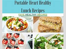 47 Portable Heart Healthy Lunch Recipes